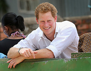 Prince Harry Visits Lesotho