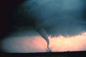 The 'Rope' Stage Of A Tornado