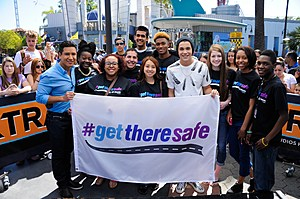Austin Mahone Teams Up With The Allstate Foundation's #GetThereSafe Program