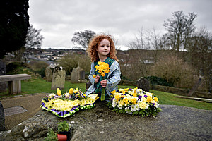 Procession And Vigil At The Grave Of St Patrick