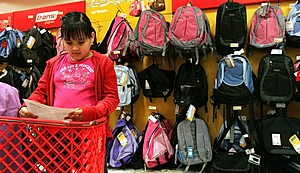 Stores Prepare For Back-To-School Season