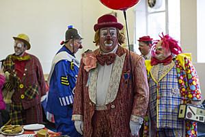 Clowns Gather For Annual Church Service Honouring Joseph Grimaldi