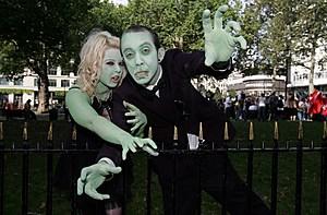 Zombie Walk World Record Attempt